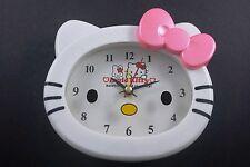Nouveau Noeud Rose Bureau Table Réveil plumets en boîte pour Hello Kitty + montre