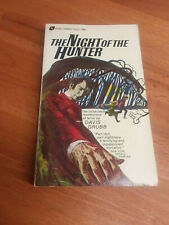 Night of the Hunter, by Davis Grubb (1st Avon ed, 1968) vintage horror paperback