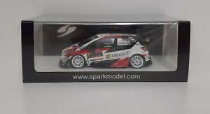 Spark 1/43 Model Car Rally Toyota Yaris WRC Ogier Monte Carlo 2020 Diecast