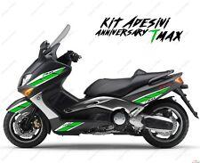 ADESIVI ANNIVERSARY COMPATIBILE YAMAHA TMAX T-MAX 01 07 BIANCO VERDE SPORT