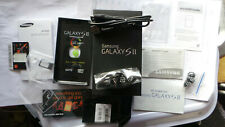 SAMSUNG GALAXY SII 16GB S2 SMARTPHONE MINT BOXED WITH CASE + ORIGINAL PACKAGING