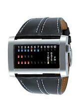 The One Watch IBIZA RIDE IRH102RB1 Binary Leather Black