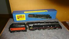 HORNBY DUBLO  Canadian Pacific Restored engine & tender in repro box