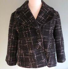 short black jacket/coat in style of 1950's/1960's (36-38, S-M) pinup/ rockabilly