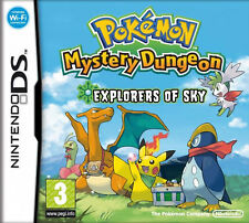 Pokemon Mystery Dungeon: Explorers of Sky (Nintendo DS, 2009) 3DS 2DS Cart Only