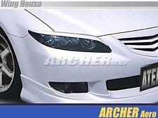 02 03 04 05 06 07 08 Mazda6 1.5mm Plastic Headlight Eyeline MPS6 Mazda Eyebrow