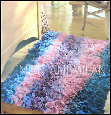 How to Make a HOOKED RAG RUG MAT Home VINTAGE PATTERN INSTRUCTIONS Craft