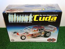 Polar Lights Big John Mazmanian Ghost 'Cuda NHRA Funny Car 1:25 Scale Model Kit