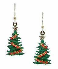 SIENNA SKY CHRISTMAS TREE EARRING - NEW, FREE SHIPPING