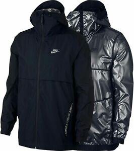 Nike Sportswear Air Max  Reversible Men's Jacket Black Silver 928763 010