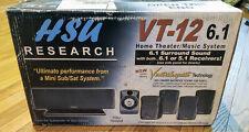 HSU Research VT-12 6.1 Surround Sound System