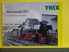 Catalogue TRIX + MINITRIX Nouveautés 2011 F -- Etat : neuf - Pages : 90