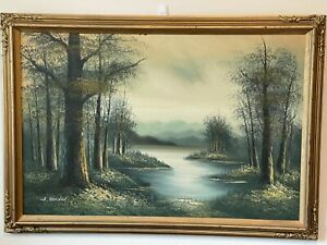 THOMAS ALEXANDER HARRISON- SIGNED- PAINTING -GREAT GIFT FOR NEW HOME BUYER