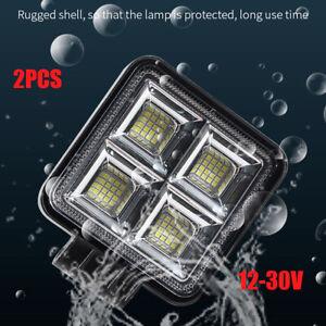 12-30V Aluminium LED Headlight High Beam Spot Light Work Lamp for Car SUV Truck