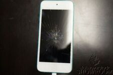 Used Untested Apple Ipod Touch Blue 32GB 5th Generation A1421 Parts/Repair Only