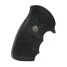 Pachmayr 05138 Gripper Decelerator Pistol Grip S&W K/L Frame Round Butt Black