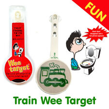 """Wee Target """"Green Train"""" for Boys to Wee in the Toilet - Boys Aiming Tool"""