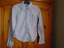 Blue and red stripe long sleeve shirt, Designers at DEBENHAMS range?, 4-5 yrs