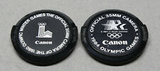 2 Canon 52mm Olympic Games Lens Caps 1980 Winter & 1984 Summer