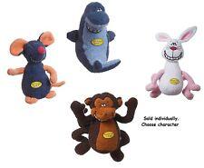 Dog Toys Singing Deedle Dude Soft Playful Choose Mouse Shark Monkey or Rabbit