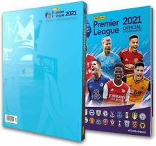 NEW Panini Premier League 2021 sticker collection HARDBACK ALBUM with slipcase