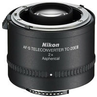 Nikon Nikkor AF-S TC-20E 2X III Lens (TC-20E III)  New