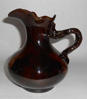 """Stockton Art Pottery Standard Glaze 7"""" Pitcher"""