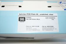 Eppendorf twin.tec PCR Plate 96 unskirted clear Cat.no. 0030133366
