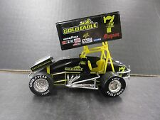 Jeff Swindell  Racing Action Sprint Car #7TW Gold Eagle  1/24th scale