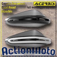 Coppia Paramani ACERBIS Dual Road Universali Moto Scooter Spoiler Amovibile