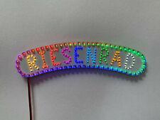 Riesenrad Schriftzug für Faller Kirmes 140312 RGB SMD LED bunt Lauflicht H0 1:87