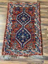✔ Shiraz | 79 x 127 | Handgeknüpft | Orientteppich | Carpet | Rug