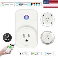WiFi Smart Plug Socket for Amazon Alexa Echo Dot Google Home Assistant Voice US
