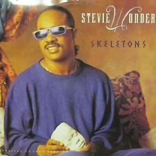 """Stevie Wonder(12"""" Vinyl)Skeletons-Motown-ZT 414440-UK-VG/NM"""