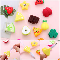New Cartoon Fruit Cable Bite Cute Phone Charger Protector Soft Cord Accessories