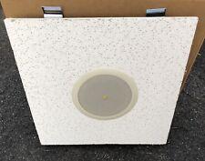 "Atlas Sound FAP42TC 4"" Shallow Mount In-Ceiling Speakers White Pair"