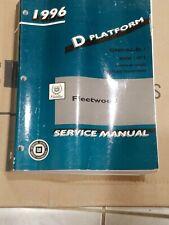 1996 Cadillac Fleetwood SERVICE REPAIR Shop-Manual