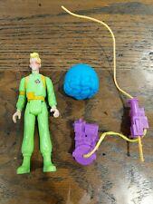 Real Ghostbusters EGON SPENGLER Slimed Heroes NEAR COMPLETE w/PROTON PACK Kenner