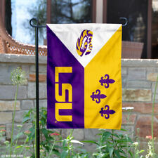 Louisiana State Lsu Tigers Acadian Garden Flag and Yard Banner