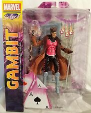 """Marvel Select Gambit 7"""" Diamond Toys Special Collector Action Figure"""