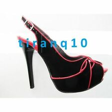 Stiletto Suede Sandals Unbranded Heels for Women