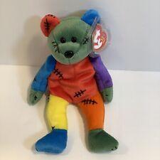 Ty Halloween Beanie Haunt-2000 NWMT Frankenteddy is SOLD