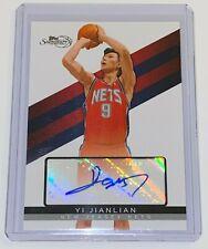 2008-09 Topps Signature Autograph /6225 Yi Jianlian #TSA-YJ NBA New Jersey Nets
