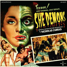 She Demons - Motion Picture Soundtrack - NEW SEALED Limited Colored Vinyl+Poster