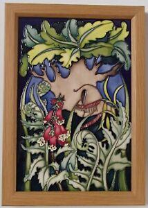 30cm Moorcroft Wall Plaque Major Oak Emma Bossons RSPB Sherwood Forest Ltd Ed