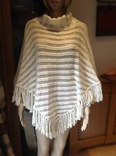 CUTE COAST KNITTED PONCHO ONE SIZE WORN BUT IN GOOD CONDITION