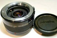 Kiron MC7 2X teleconverte MD manual focus lens for Minolta Coated 7 element