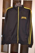 Official Teenage Mutant Ninja Men's Jacket Black W/Yellow Pre-Owned Good Cond.