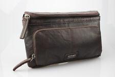 Talla Búfalo cuero bolsa de cinturón, bolso correa por la etiqueta tendencia