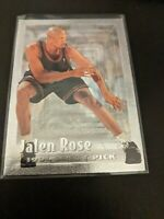 1994-95 Topps Embossed Silver Idol Jalen Rose ROOKIE RC